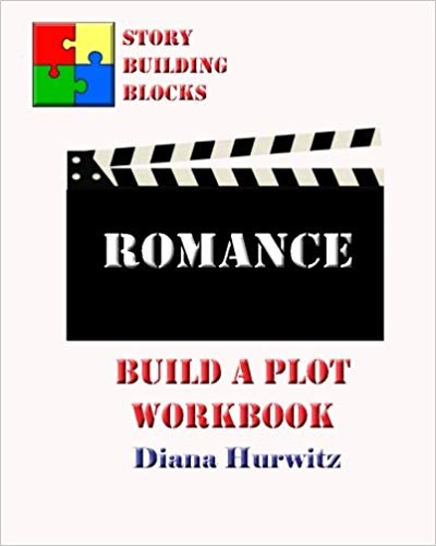 Build a Plot Workbook - Romance by Diana Hurwitz.  This workbook is from the Story Building Blocks Series.  This is a great resource to help you plot out your romance book!