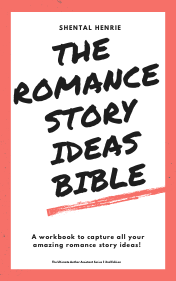 The Romance Story Ideas Bible, a printable workbook to keep track of your random ideas!
